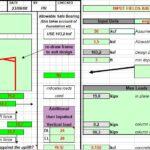 Metal Building Foundation Design Spreadsheet