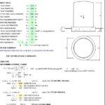 Tank Footing Design Based On ACI 318-14 Spreadsheet